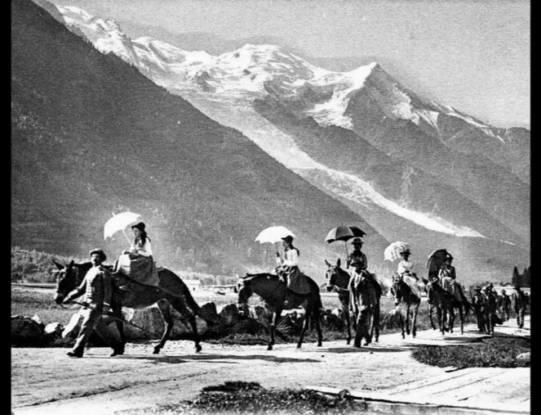 Promenade à dos de mulets