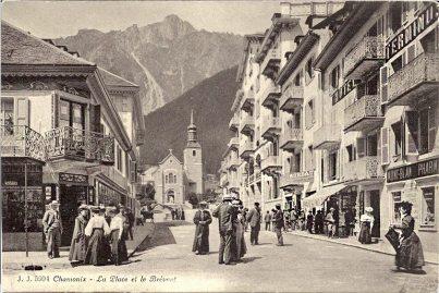 Chamonix La Place et le Brévent