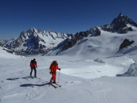 Ski de randonnée Col d'Entrèves