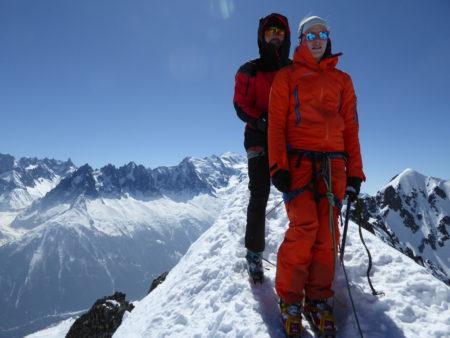 Ski de randonnée Aiguilles Crochues Col du Belvédère