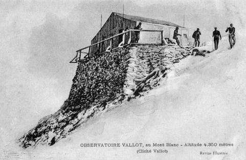 Observatoire Vallot au Mont Blanc