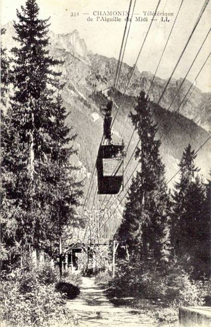 Téléférique de l'Aiguille du Midi