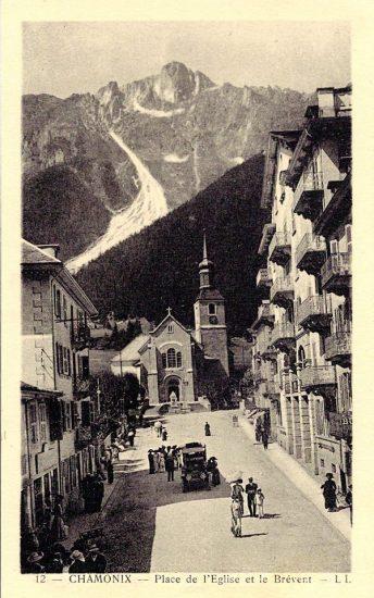 Chamonix Place de l'Eglise