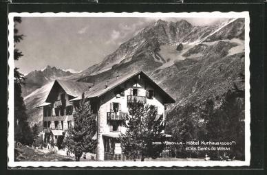 Hôtel Kurhaus et Dents de Veisivi