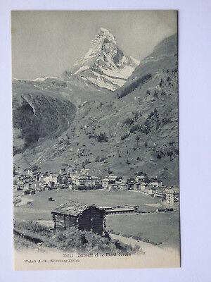 Zermatt et le Cervin