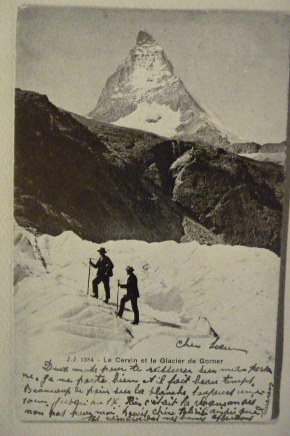 Le Cervin et Glacier de Gorner