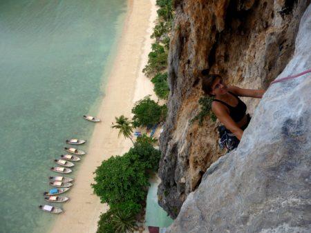 Escalade en Thaïlande