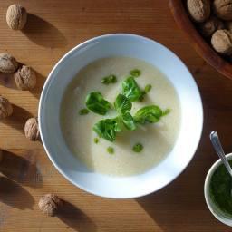 Bohnen-Zitronen-Suppe