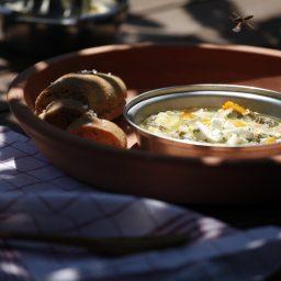 Griechisch-spartanische Suppe