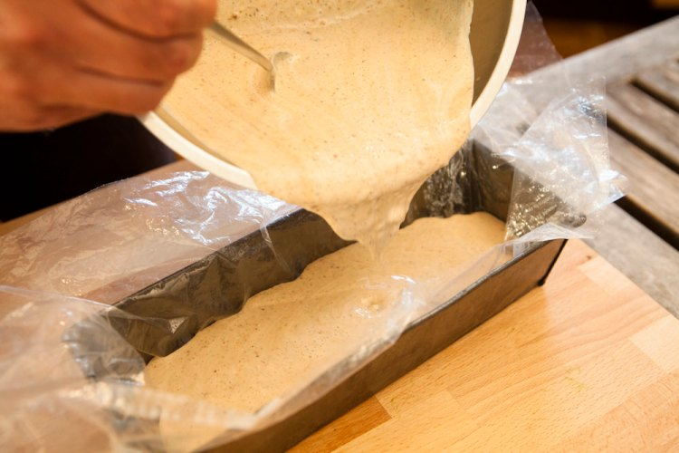 Nusseis mit Heidelbeerkompott, Rezept, Heidelbeeren, Eis, Food, Blog, Foto: Kirsten Turba, www.montagssuppe.de