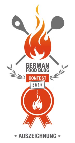 GERMAN FOOD BLOG CONTEST 2016 Auszeichung montagsSuppe