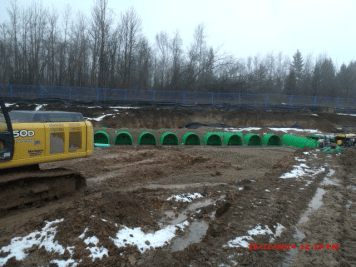 Triton Storm Water System installed