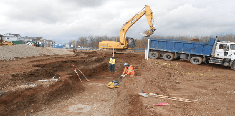 Footings Excavation