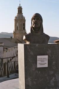 Estatua de Sancho Garcés I de Pamplona y Deyo, Villamayor de Monjardín.