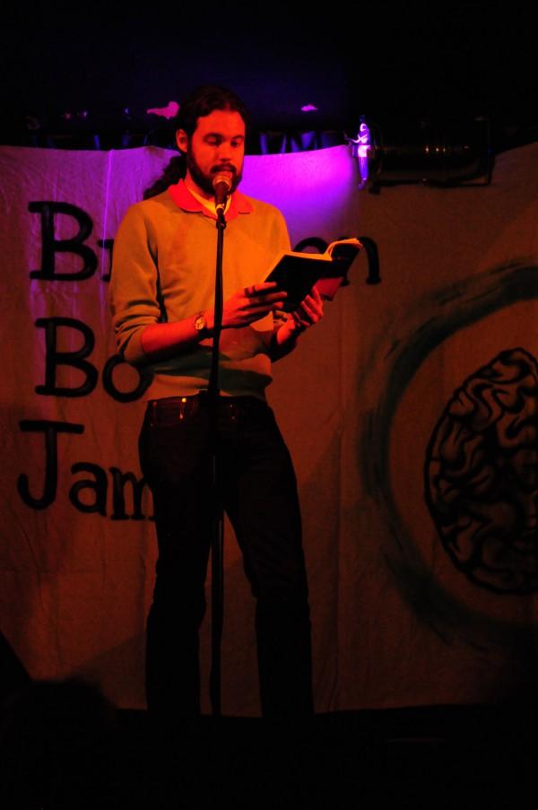 Montague Kobbé, The Night of the Rambler, Brixton Book Jam (credits: Laura Montanari)