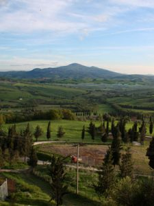 accommodation with view Montalcino