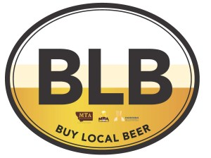 BLB oval car sticker (2)