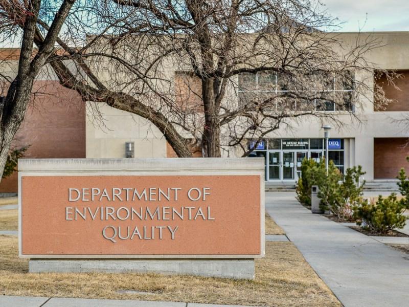 Montana Department of Environmental Quality DEQ