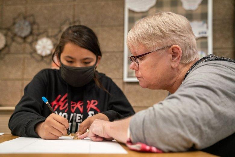 Rural teacher Poplar Montana