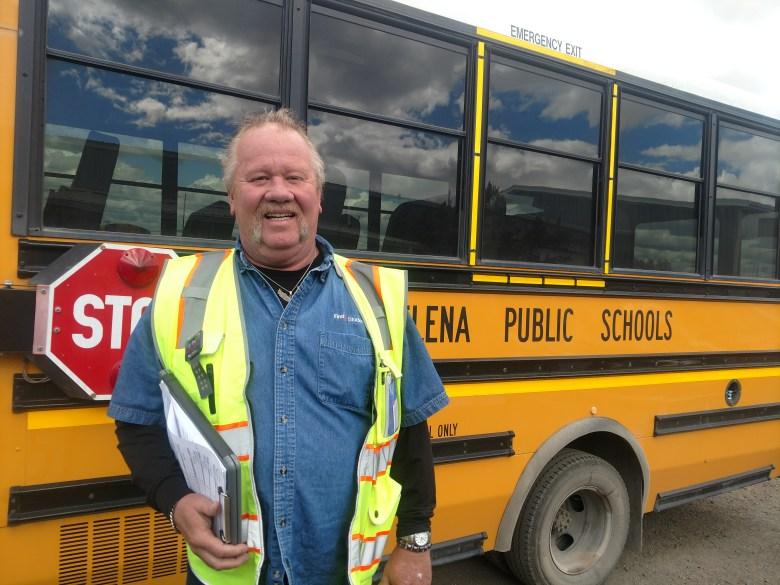 Helena school bus driver Carl Moore