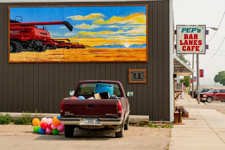 Big Sandy Montana mural