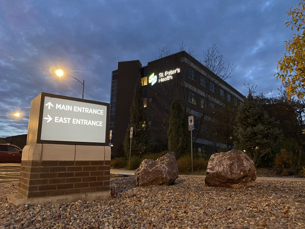 St. Peter's Health hospital in Helena.