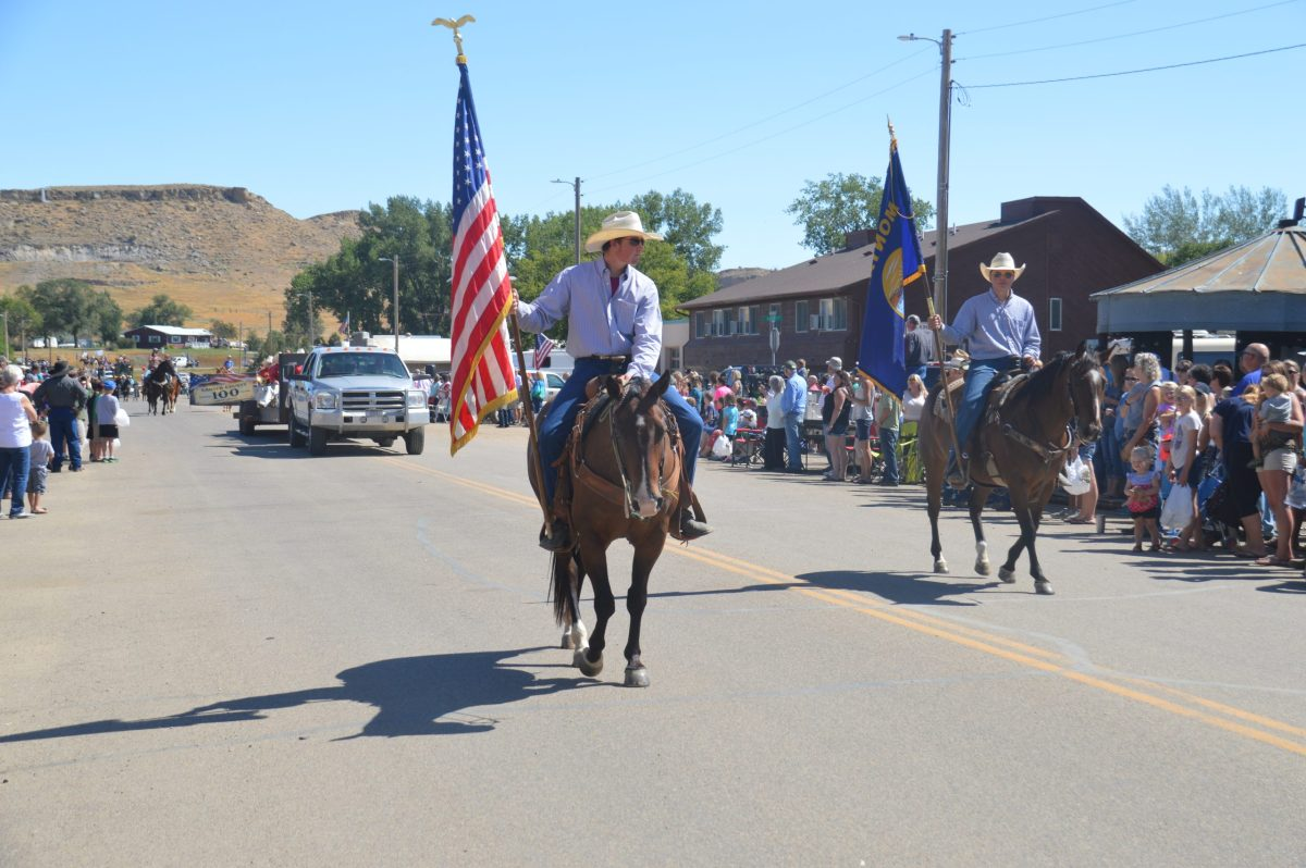 Carter County Montana Homecoming Parade Montana
