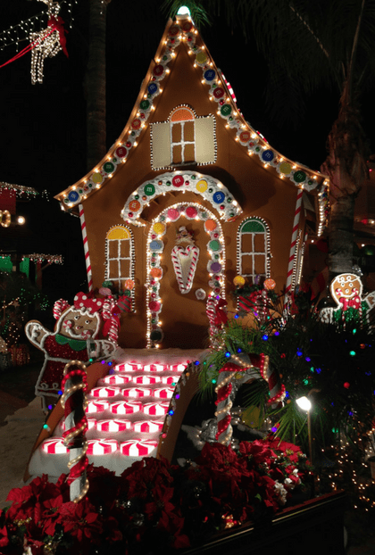 Outdoor Gingerbread House Christmas Decorations Page 2