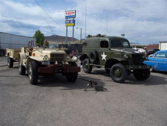 Kruz for Kids – The Army trucks even showed up