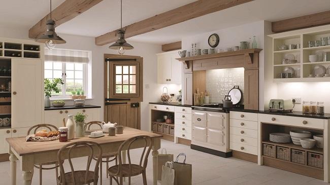 british kitchens, mereway, lincoln natural oak design