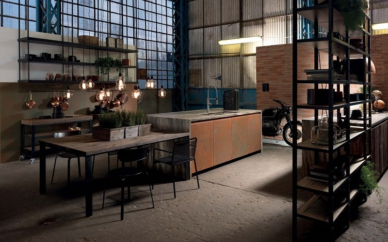 industrial kitchen style, aster cucine, factory design (3)