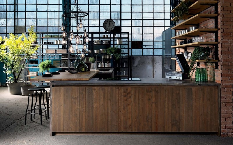 industrial kitchen style, aster cucine, factory design (4)