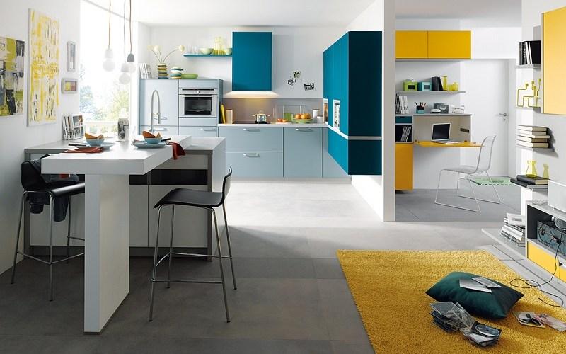 modern kitchen, schuller kitchens, biella