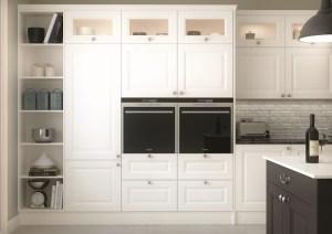 white kitchen, mereway kitchens, gainsborough