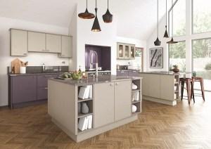 luxury fitted kitchens west london, mereway modern traditional kitchen