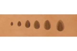 barry king thumbprint, fine horizontal pear shader