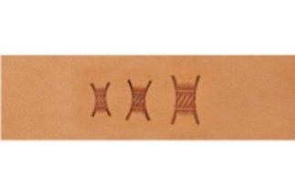 barry king basket stamps, hourglass basket stamp