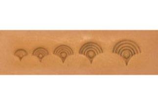barry king geometrics, loops shell geometric stamp tool