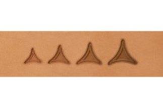 barry king geometrics, bordered solid tri geometric stamp tools
