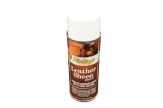 fiebing's leather sheen, leather wax finish, leather aerosol finish