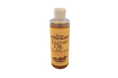 leather conditioner, leather oil, montana pitch blend