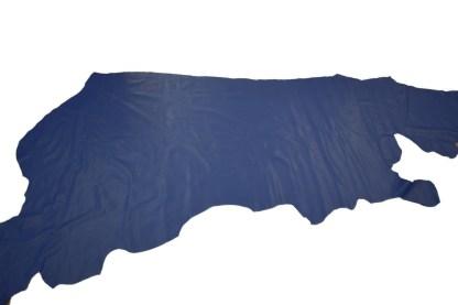 ocean blue leather, blue chrome tan leather, blue leather, Doral