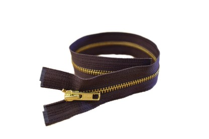 light zipper, small zipper, brown zipper, #5 zipper