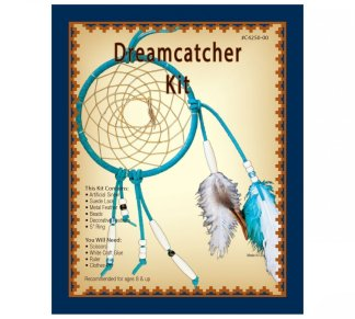 dreamcatcher, realeather, silver creek, leather kit