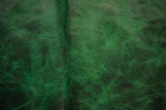 bison leather, upholstery leather, green leather