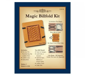magic kit, leather kit, realeather, silver creek, billfold