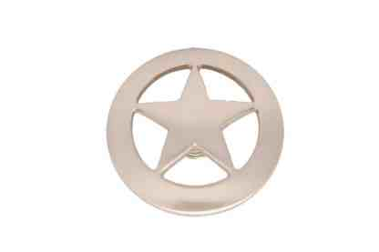Smooth Satin Star Concho