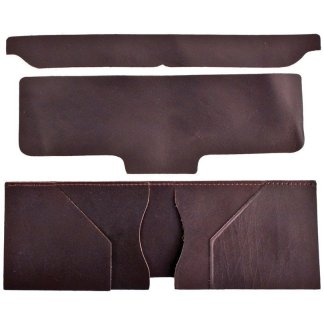 wallet liner, billfold liner, realeather, silver creek
