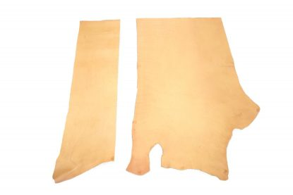 veg tan leather, leather piece, tooling leather, Hermann Oak, veg leather, natural leather