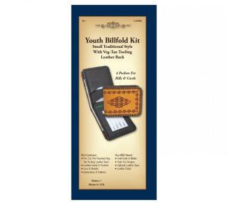 leather kit, billfold, wallet, Realeather, Silver Creek